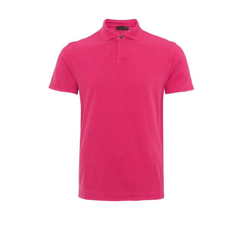 ZEGNA MEN POLO-SHIRT