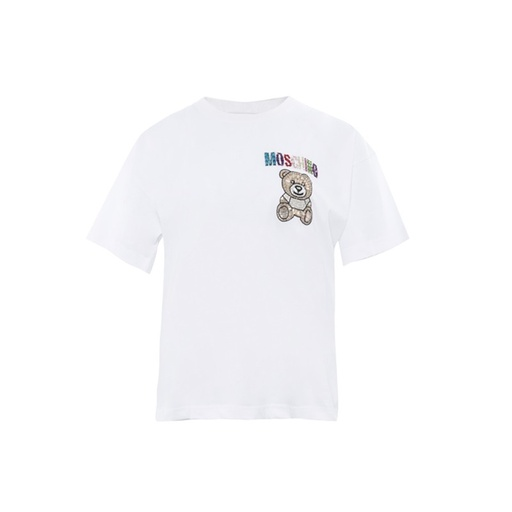 MOSCHINO COUTURE TEDDY BEAR LADY T-SHIRT