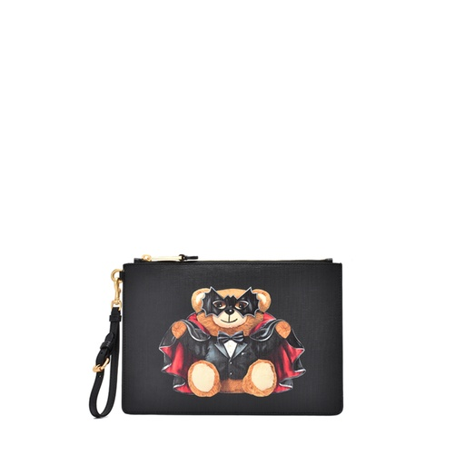 MOSCHINO COUTURE CLUTCH BAG